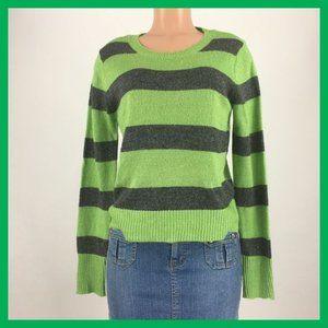 Aeropostale Women's Sweater Size XL Green Gray